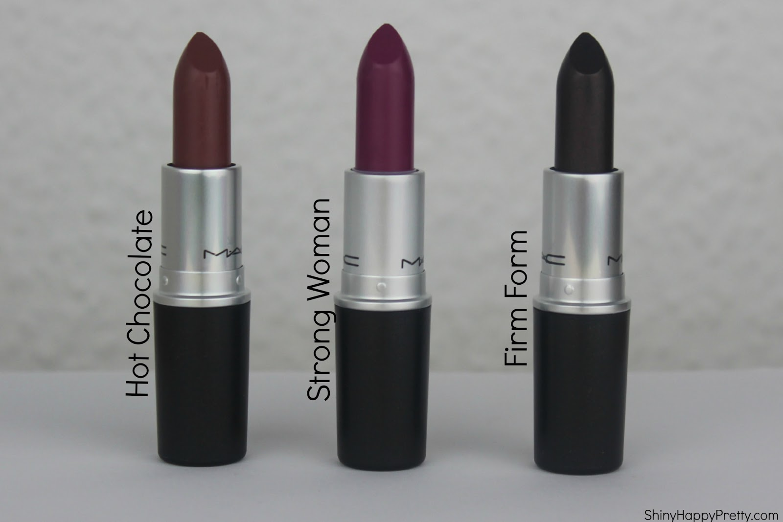 MAC Lipstick – Hot Chocolate, Strong Woman & Firm Form ...