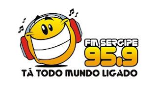 ouvir a Rádio FM Sergipe 95,9 ao vivo e online Aracaju