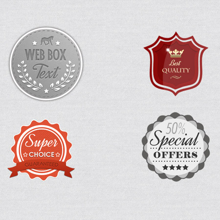 free psd, vintage badges, template psd, psd template