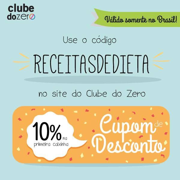 Desconto no site Clube do Zero (só no Brasil)