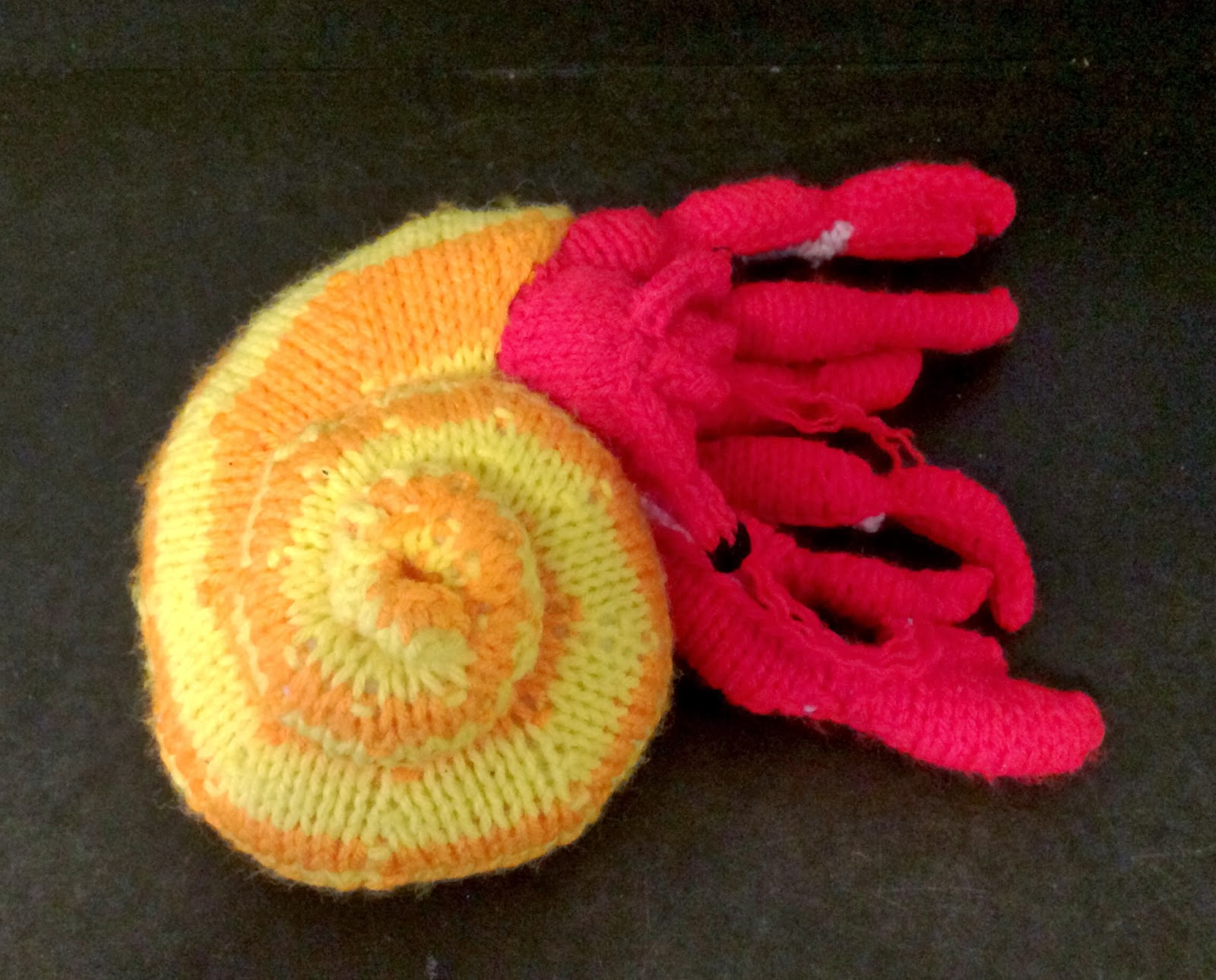 Amigurumi Hermit Crab : Knitskatoon: Amigurumi Animals