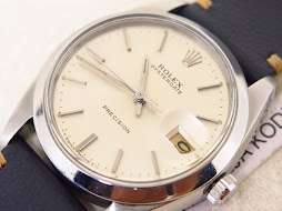 ROLEX OYSTER DATE PRECISION SILVER DIAL - ROLEX 6694 SILVER DIAL
