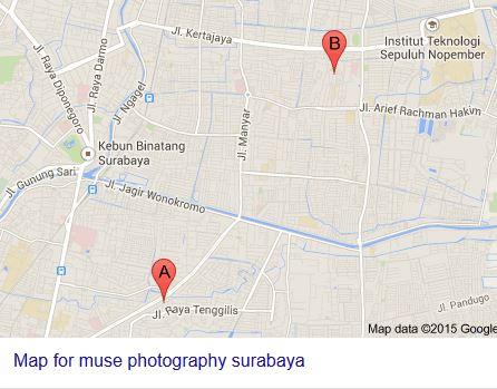 peta_menuju_muse_photography_surabaya
