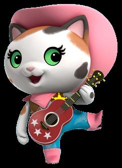 Callie tocando la guitarra