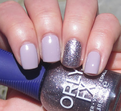 Nicole by OPI Am I Making Myself Claire? Orly Plum Pixel