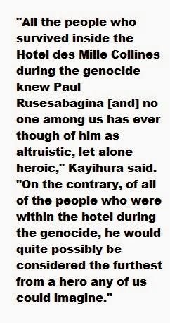 Help with An Ordinary Man:An Autobiography please? or Hotel Rwanda movie?