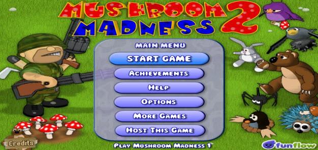 MY-SWFzone, Mushroom Madness 2