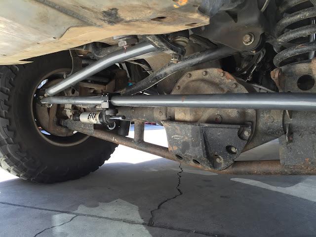 cjc  road blog synergys  dodge ram  heavy duty steering system
