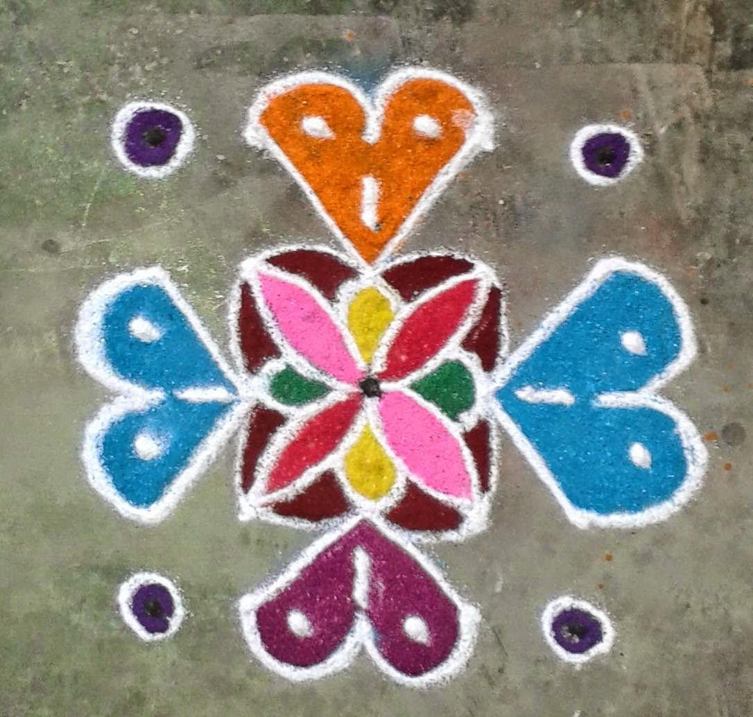 Kids Rangoli Designs 18