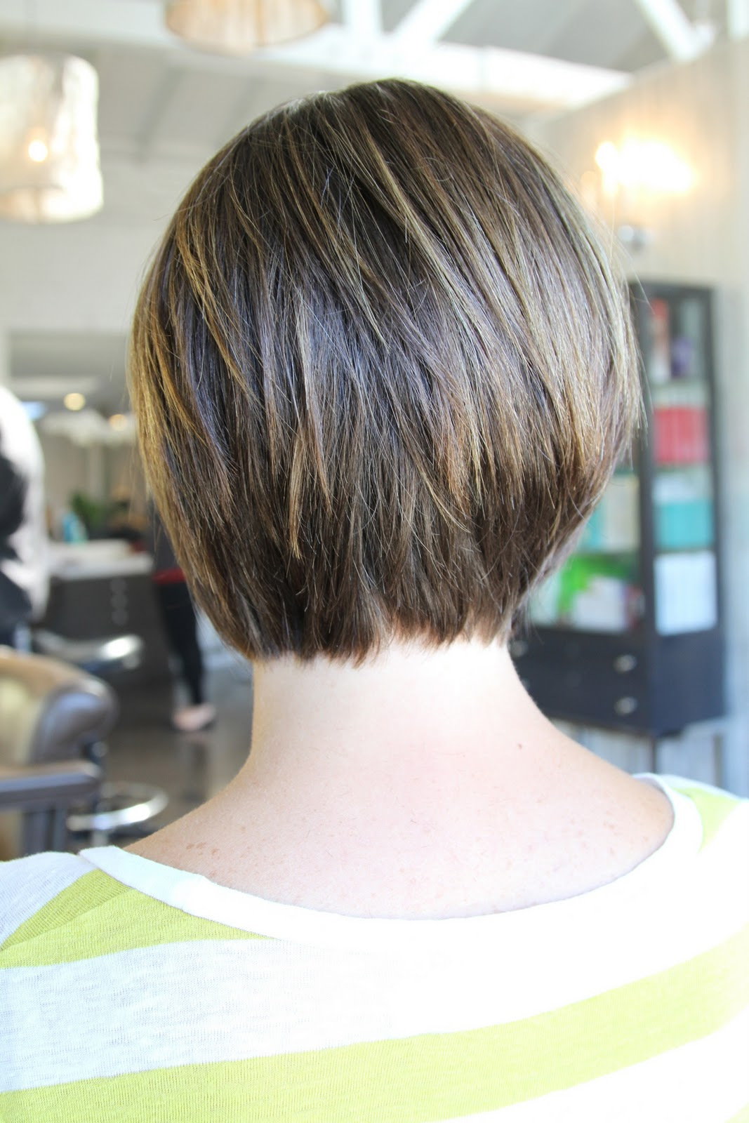 soft graduated bob is one of my favorite to cut! Haircut by Anh Co ...