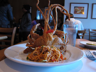 Soft Shell Crab at The House in San Francisco