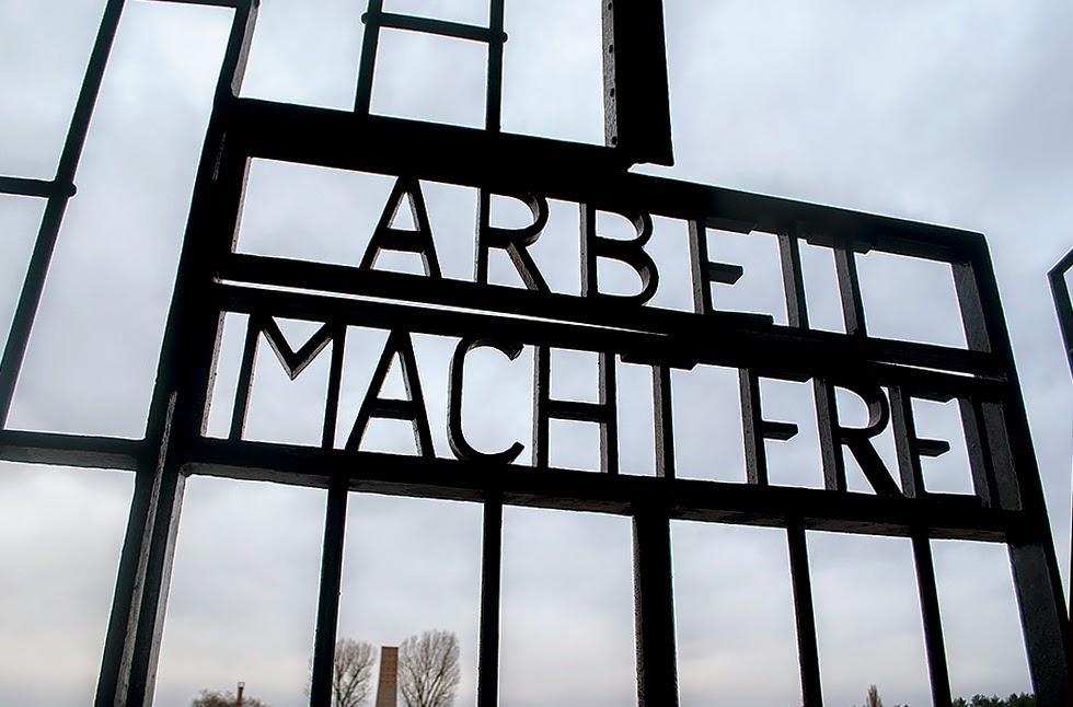 Sachenhausen Work will set you free gate