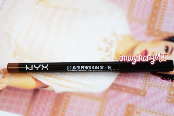 Beauty blogger Indonesia Raden Ayu nyx lipliner pencil nutmeg review