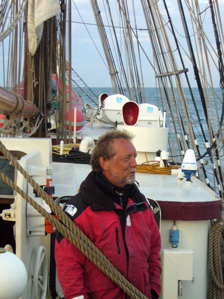 El capitán del Astrid