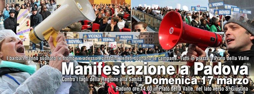 CCRSV - Manifestazione a Padova - Domenica 17 Marzo 2013