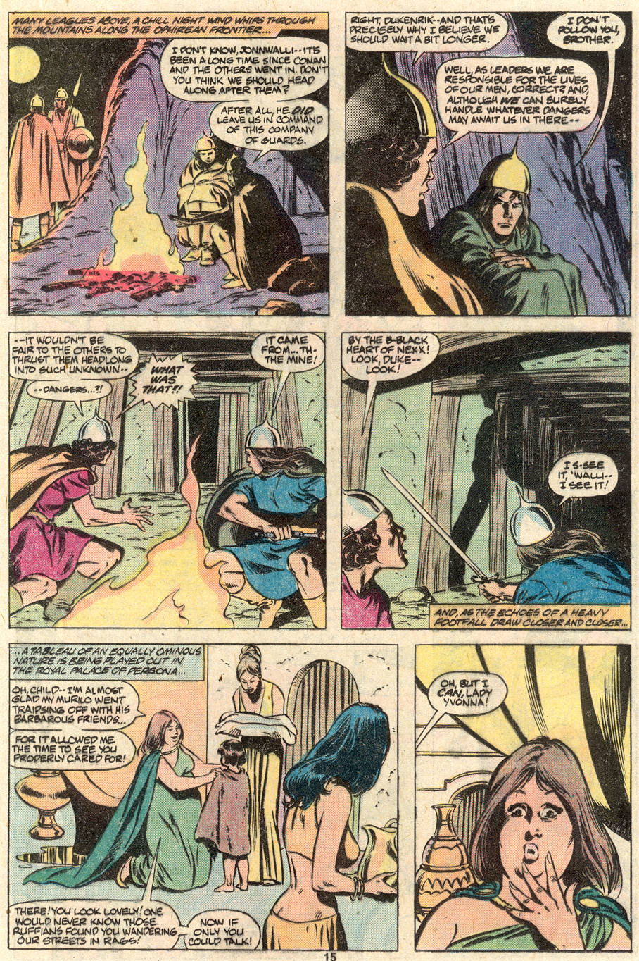Conan the Barbarian (1970) Issue #124 #136 - English 12