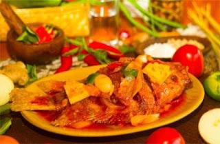 resep ikan bakar nanas pedas manis