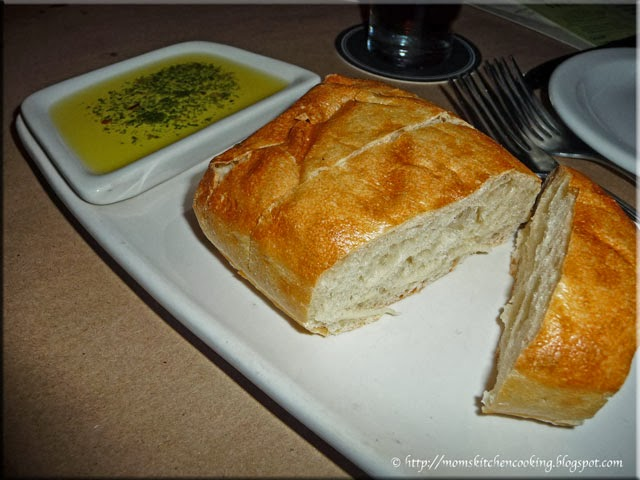 Bonefish Grill bread with herbed olive oil