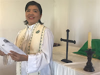 The Reverend Neli Miranda, Priest in Charge, English or Español