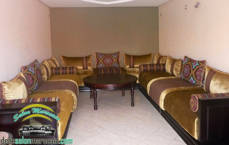 conception salon marocain | Decoration marocaine | Page 2
