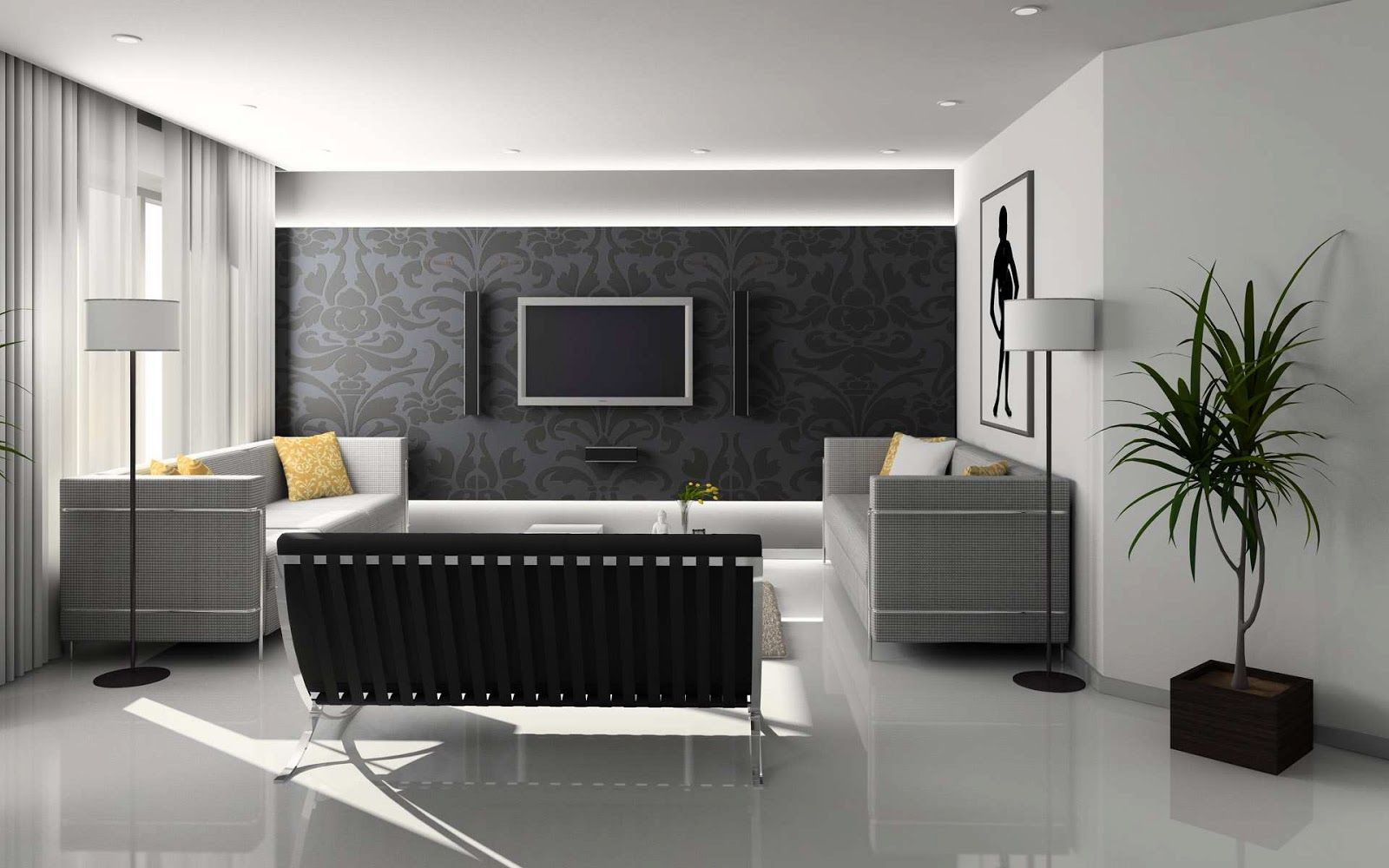 Lovely Students Will Learn All Aspects Of New Home Interior Design Such As  Wallpapering Is Not As Popular As It Once Was As Many People Have Found  That Removing ...