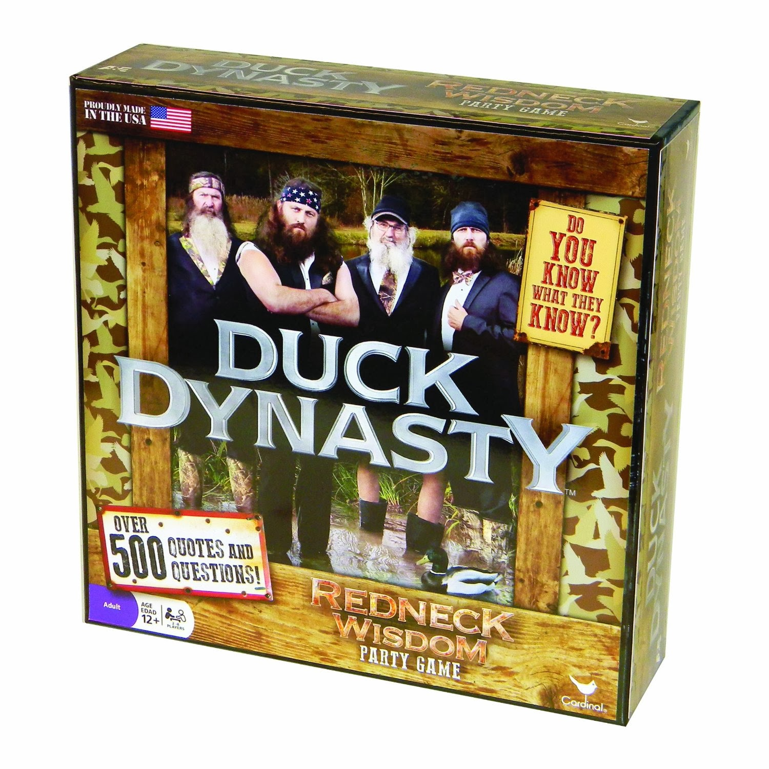 Duck Dynasty Game from Amazon