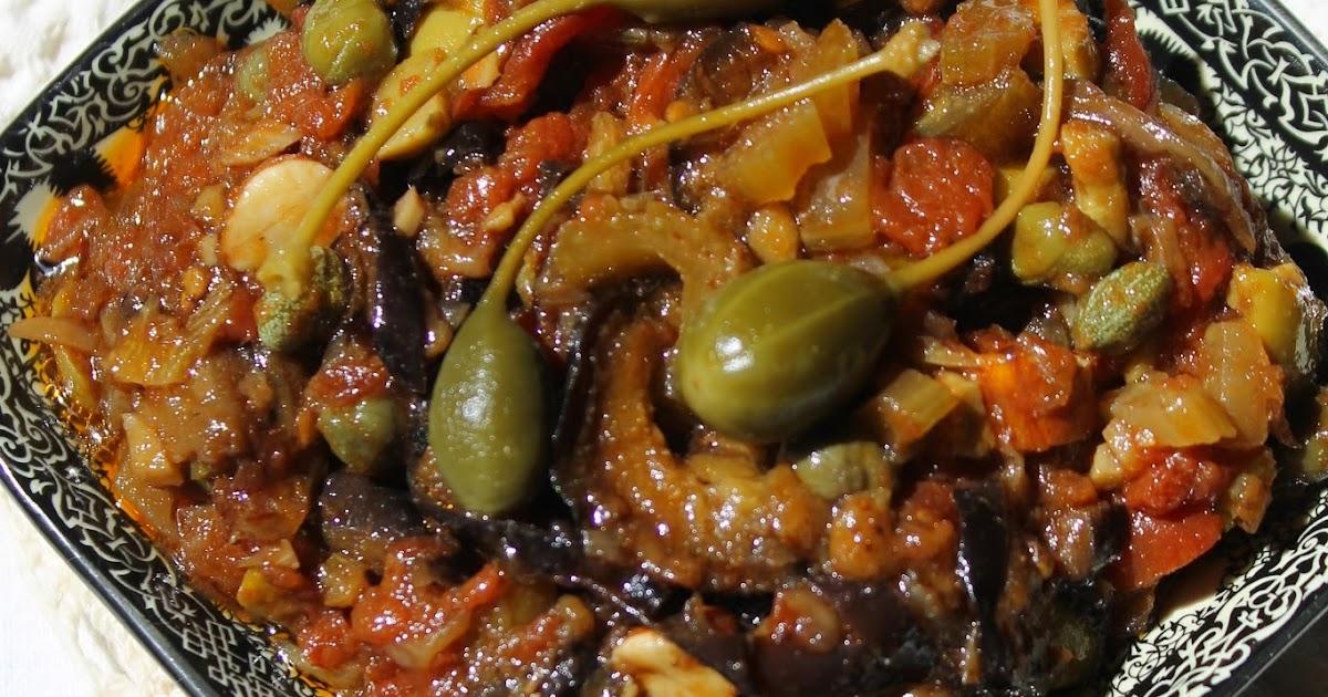 Diana 39 s cook blog caponata siciliana caponata d - Blog cuisine sicilienne ...