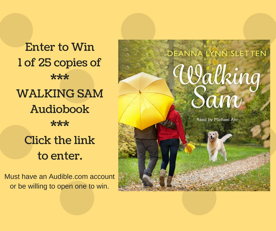 Walking Sam Audiobook Giveaway!