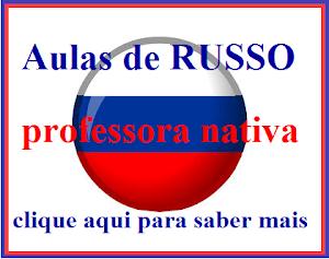 Aulas de russo com professora nativa