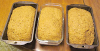 Ready to bake loaves of Red River Bread