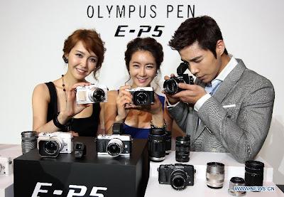 Olympus PEN E-P5, New Olympus PEN E-P5, new mirrorless camera