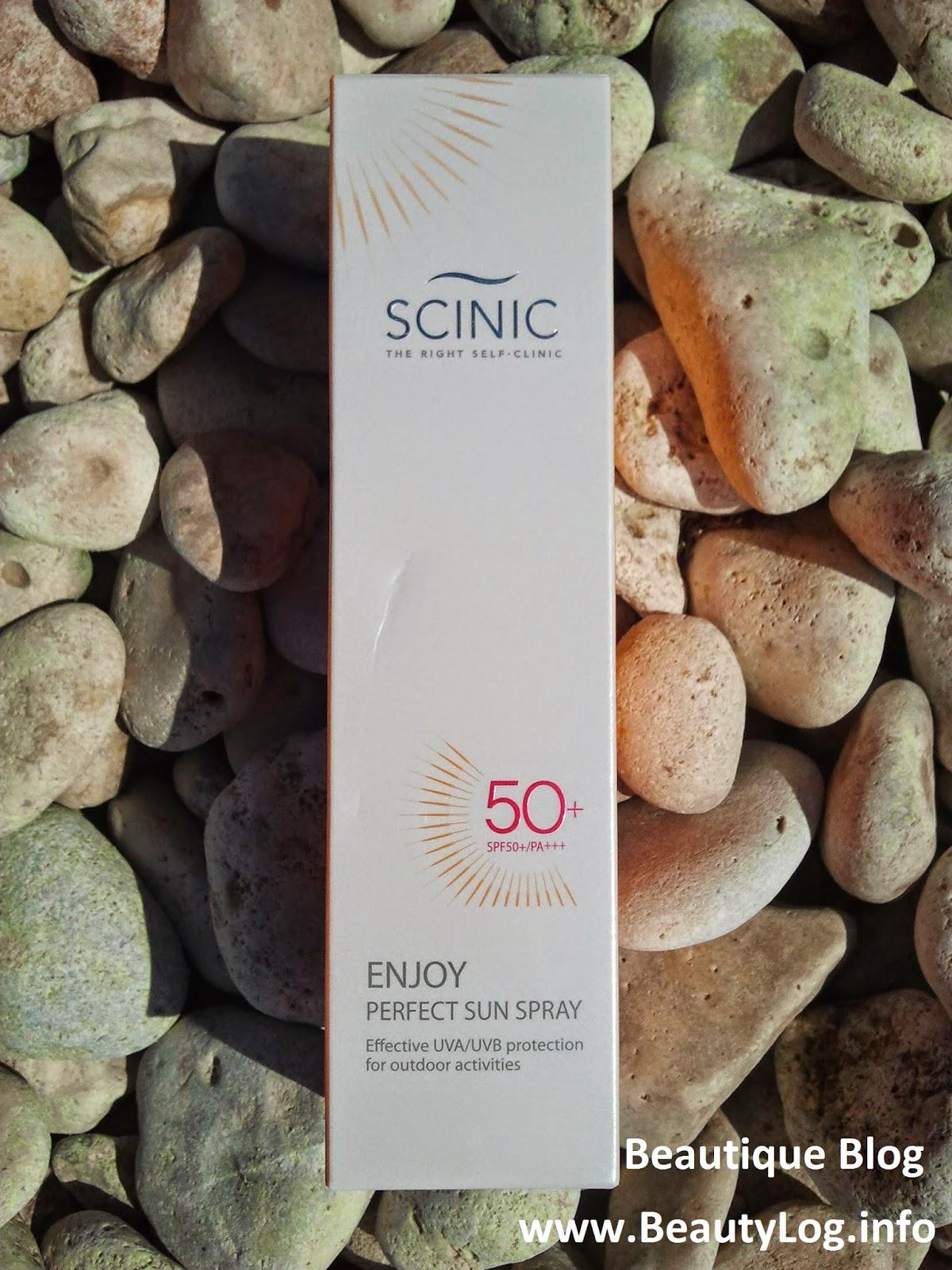 SCINIC Enjoy Perfect Sun Spray: Пусть всегда будет солнце!