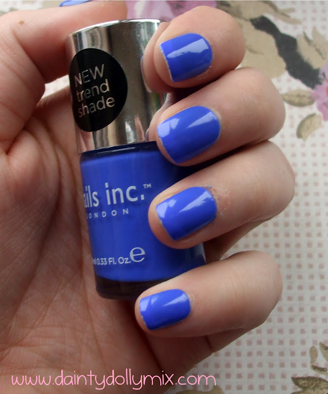Dainty Dollymix UK Beauty Blog: Nails Inc Baker Street
