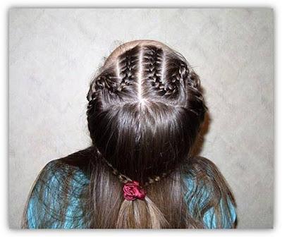 a11 تسريحات شعر بنات صغار روعة بالصور
