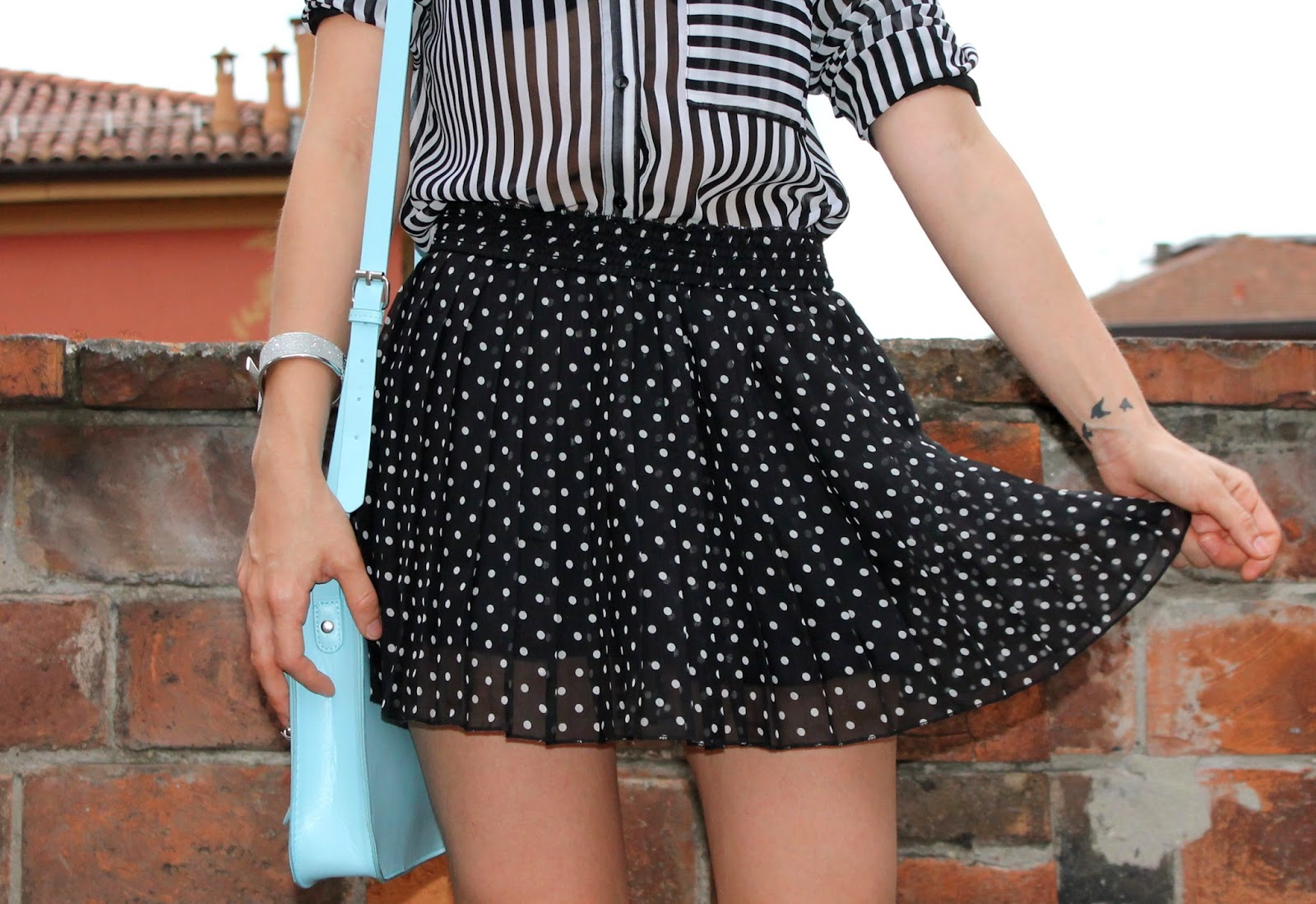 Polka dot and stripes