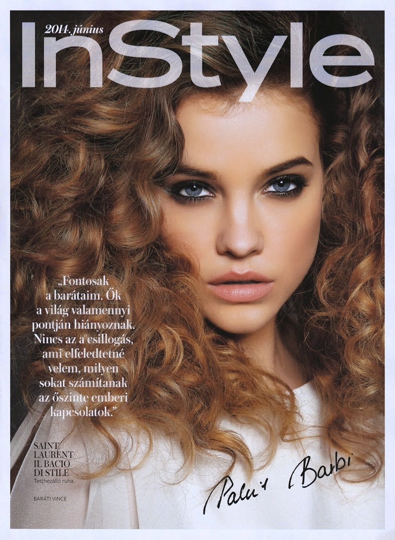 Barbara Palvin for InStyle Hungary June 2014