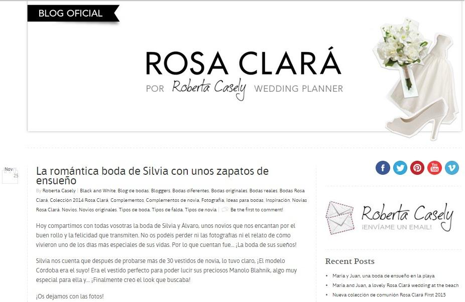 el blog de silvia - Boda Rosa Clará