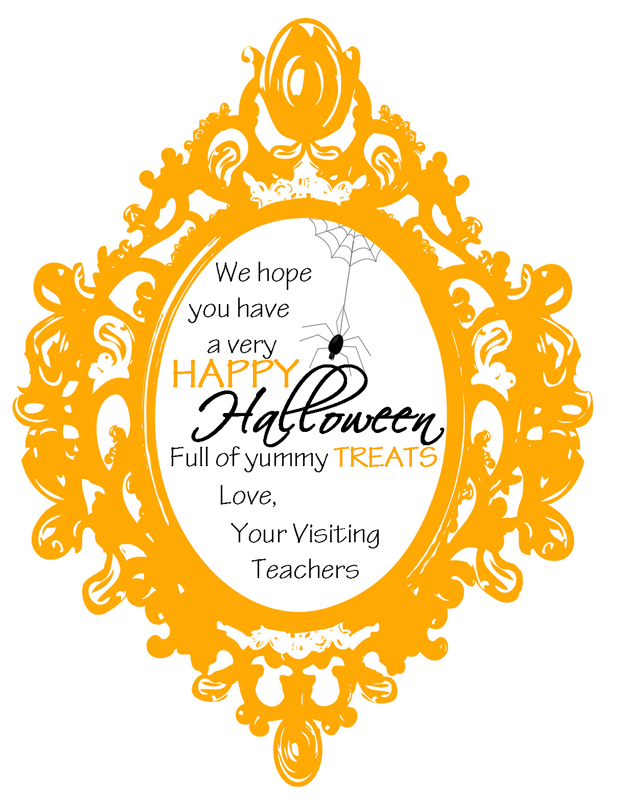 Mommy by day crafter by night easy halloween gift for visiting teaching easy halloween gift for visiting teaching negle Gallery