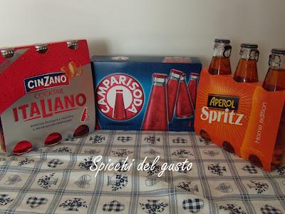 Cinzano Italiano, Aperol Spritz e Campari Soda
