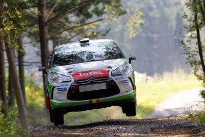 Simone Tempestini si Dorin Pulpea - Citroen DS3 R3 - Raliul Finlandei - JUNIOR WRC