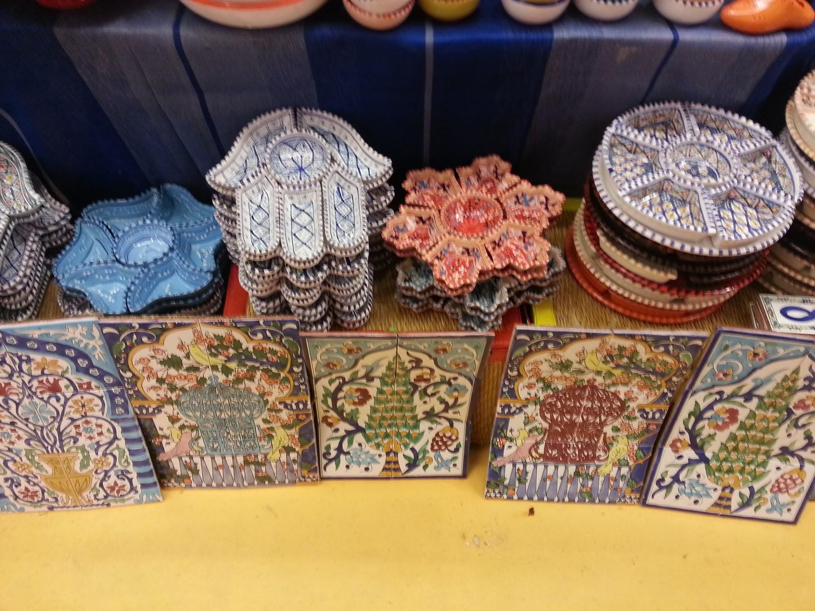 lampadari indiani : Ecco le coloratissime ceramiche tunisine, che io adoro perch? portano ...