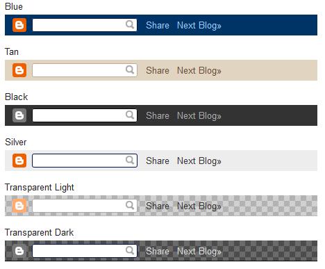 hide or remove blogger navbar