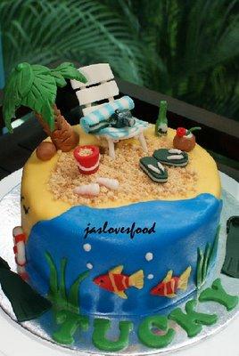Beach Themed Birthday Cakes Beautiful Birthday Cakes Birthday