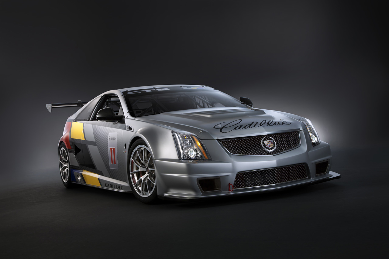 2011 cadillac cts v coupe race car auto cars concept. Black Bedroom Furniture Sets. Home Design Ideas