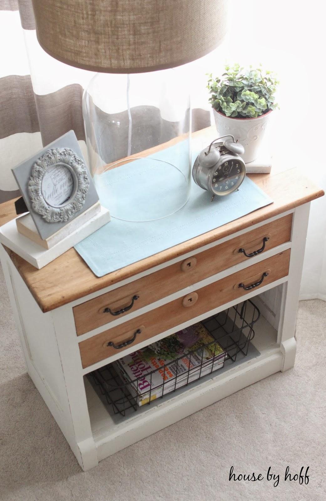how to paint furniture via housebyhoff.com