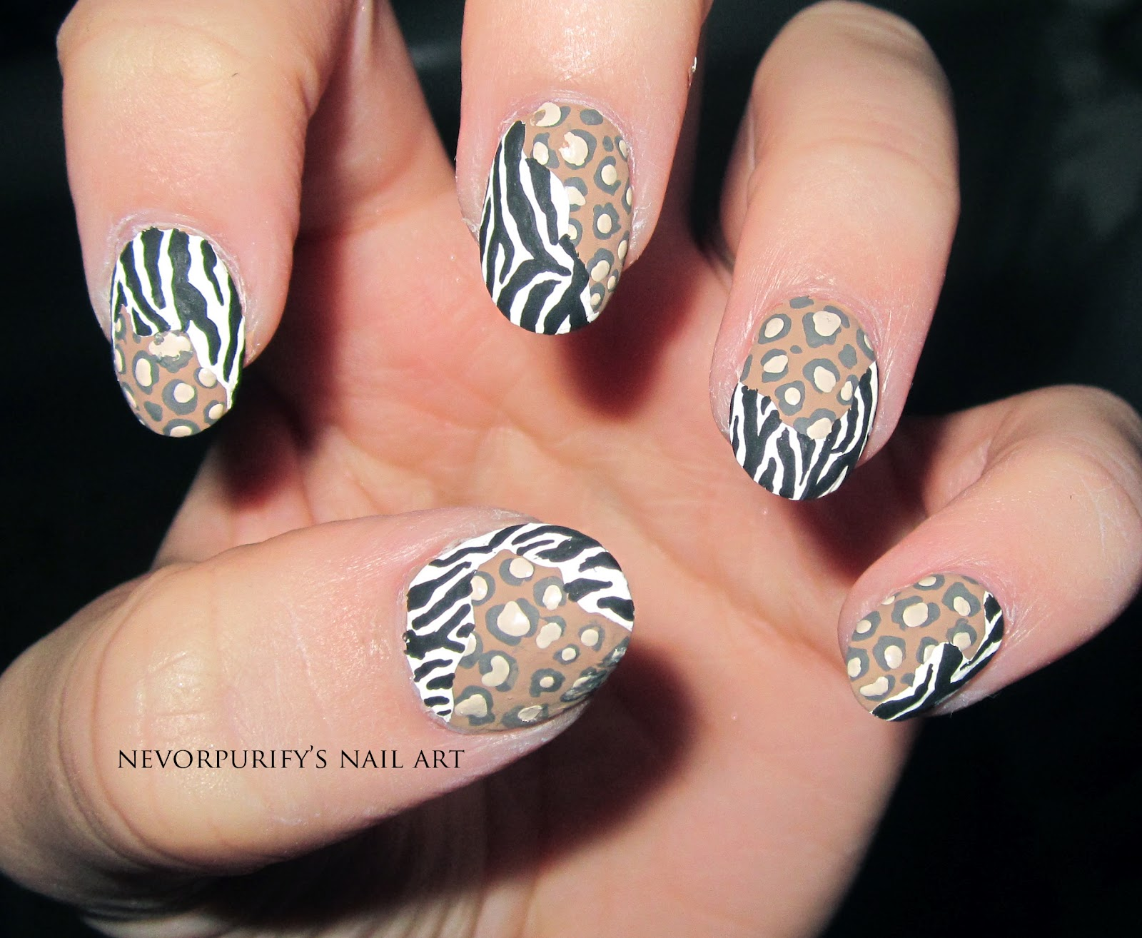The Enchanting Leopard print fake nail designs Picture