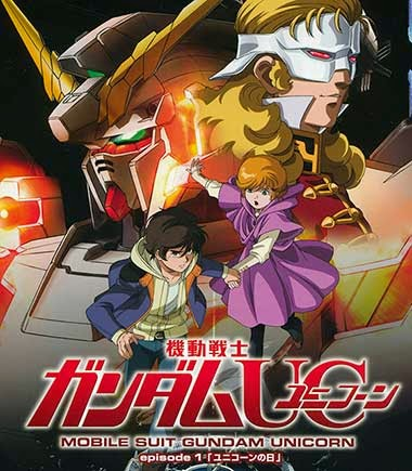 Mobile suit gundam unicorn - animation of the year