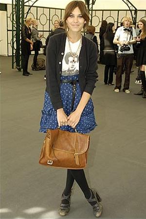 alexa chung style clothes