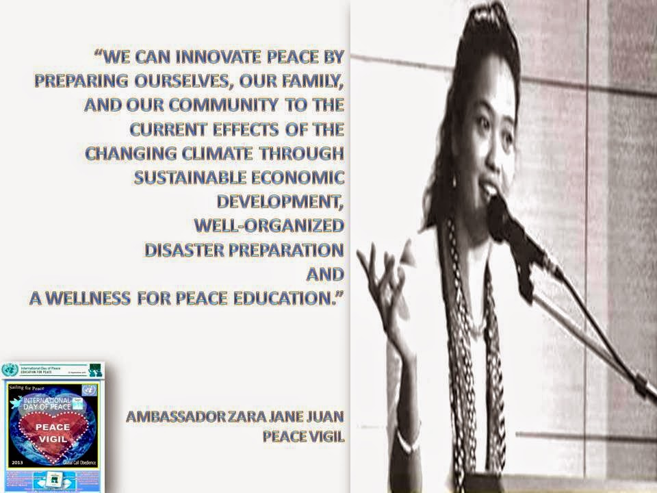 Innovating Peace by Amb Zara Jane Juan