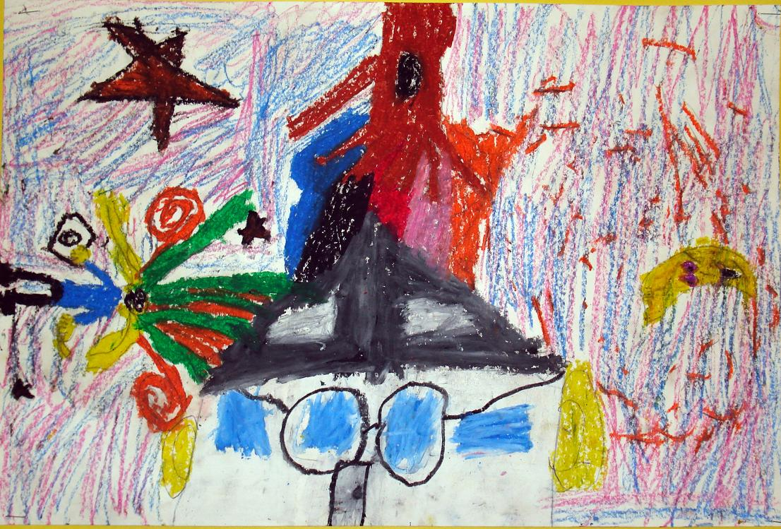 Chagall's I and the Village 2nd Grade | ArtMuse67